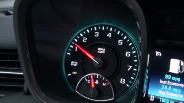 Speedometer, Speed, Gauge, Measure, Automotive — Stock Video