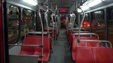 Buses, Roads, Public Transportation, Mass Transit — Stock Video