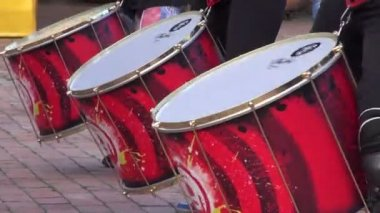 Drums, Percussion, Musical Instruments — Stock Video