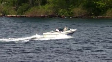 Speedboats, Powerboats, Motorboats — Stock Video