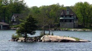 Islands, Isles, Large Rocks, Ocean, Water — Stock Video