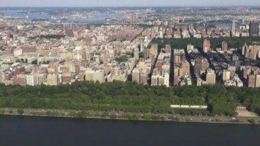 Coastal City, Urban Area, Buildings — Stock Video
