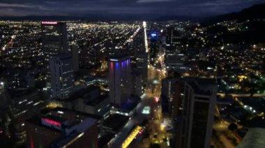 City at Night, Urban, Cityscape — Stock Video