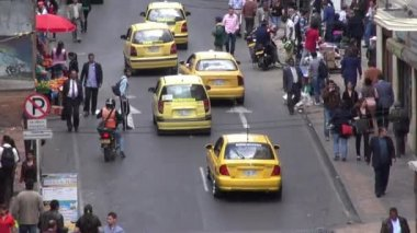 Traffic, Cars, Roads, Developing Nation, Driving — Stock Video