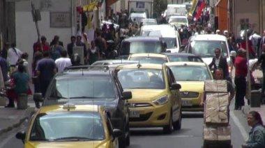 Traffic, Cars, Roads, Developing Nation, Driving — Vídeo de stock