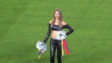Cheerleaders, Talent, Performers — Stock Video
