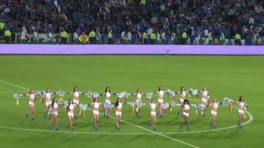 Performance, Cheerleaders, Talent — Stock Video