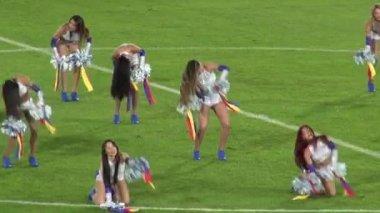 Performance, Cheerleaders, Talent — Stock Video