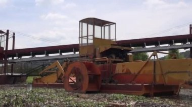 Old Machine, Machinery, Rusted, Outdated — Stock Video