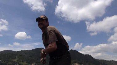 Hispanic Man, Latino Male, Adult — Stock Video