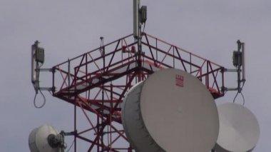 Telecom, Telecommunications, Communcations — Stock Video