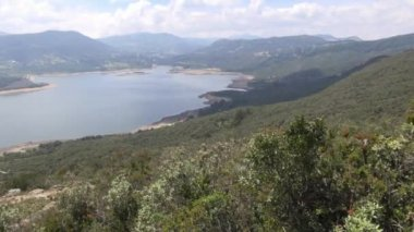 Lake, Aerial View, Pond, Sea — Stock Video