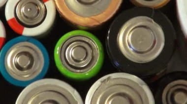 Battery, Batteries, Electricity, Energy — Stock Video