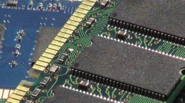 Ram, Memory, Circuits, Computers — Vídeo Stock