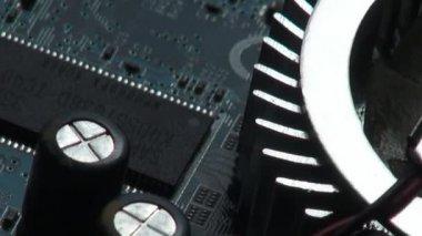 电路板、 电子产品、 电脑 — 图库视频影像