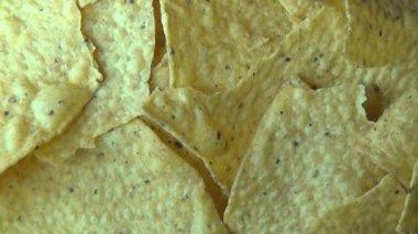 Corn Chips, Tortillas, Junk Foods, Snacks — Stock Video