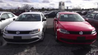Cars, Dealership, For Sale, New and Used — Stock Video