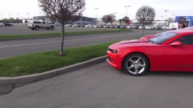 Sports Cars, Automobiles — Stock Video