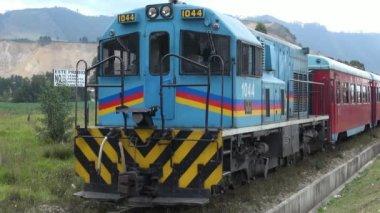 Train Engine, Locomotive, Diesel — Stock Video