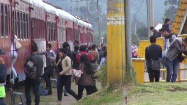 Train Passengers, Travelers, People — ストックビデオ