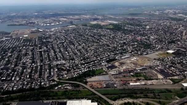 Ciudad antena, urbano, barrios, Distrito de — Vídeo de stock