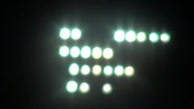 Flood Lights, Lighting — Stock Video
