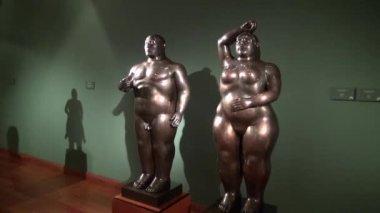 Statues, Sculptures, Arts, Artwork, Monuments, Landmarks — Stock Video