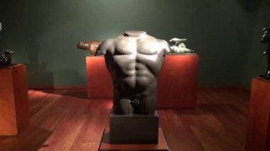 Beelden, sculpturen, kunst, kunstwerk, monumenten, bezienswaardigheden — Stockvideo