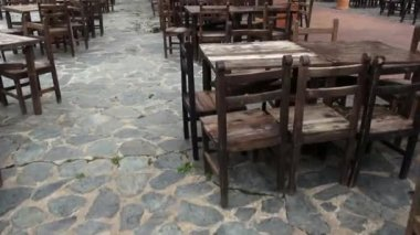 Tables, Chairs, Dining, Furniture — 图库视频影像