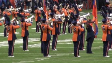 Marching Band, müzik performansı — Stok video