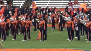 Marching Band, Music Performance — Stockvideo