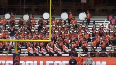 Marching Band, Music Performance — Stock Video