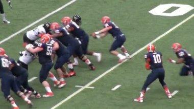 Quarterback, Football Players, Athletes, Sports — Stock Video