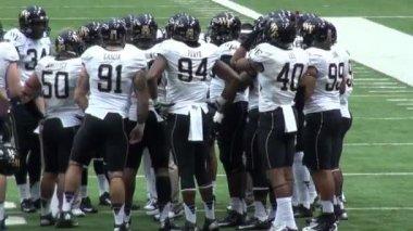 Football, Sports, Athletes, NCAA, NFL — Stock Video