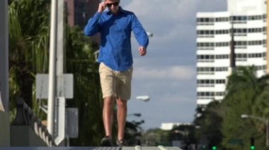 Walking, Pedestrian, People — Stok video