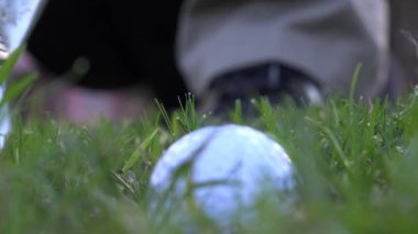 高尔夫挥杆 — 图库视频影像