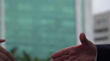 Handshake, Shaking Hands, Greeting — Stock Video