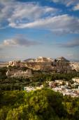 Parthenon, temple on the Athenian Acropolis — Stock Photo