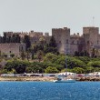 Old City of Rhodes Island, view from the sea — Stock Photo #63612057