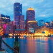 Boston Harbor and Financial District — Stock Photo #52487179