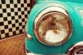 Vintage car detail — Stock Photo