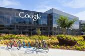 Exterior view of a Google headquarters building. — Stockfoto