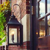 Vintage sokak lambası — Stok fotoğraf