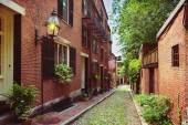 Historic Acorn Street — Stock Photo
