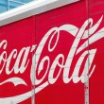 Постер, плакат: Coca cola truck
