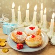 Hanukkah celebration — Stock Photo #54490289