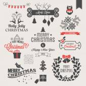 Vánoční ikony — Stock vektor