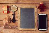 Vintage and modern objects collection — Stock Photo