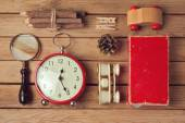 Vintage and modern objects collection — Foto de Stock