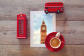 Photo of Big Ben with cup and suvenirs — Стоковое фото